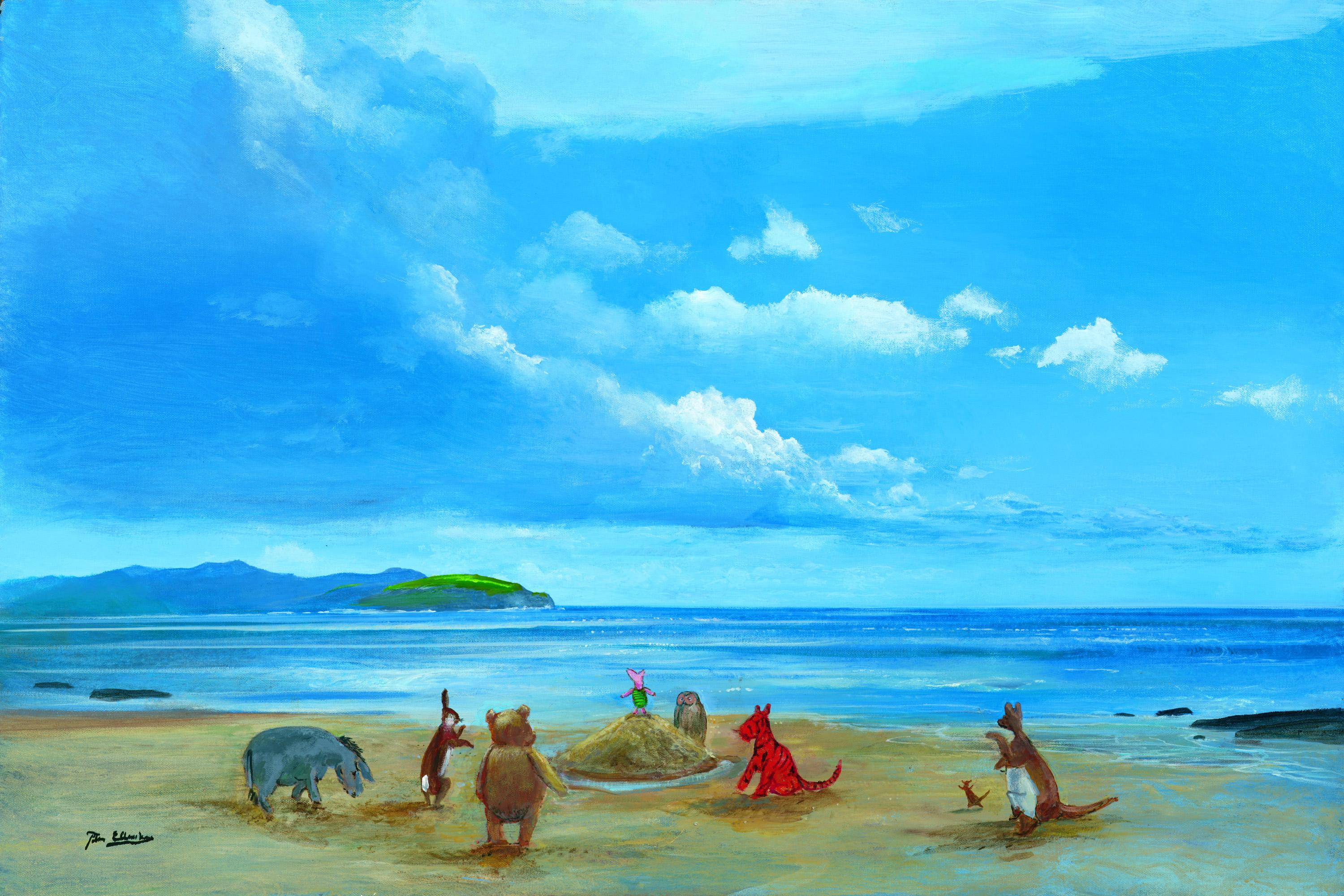 Winnie the Pooh & Friends at the Seaside