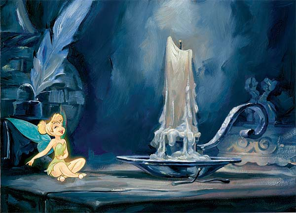 Tinkerbell on a Table